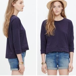 Madewell City Island Pullover Sweatshirt medium